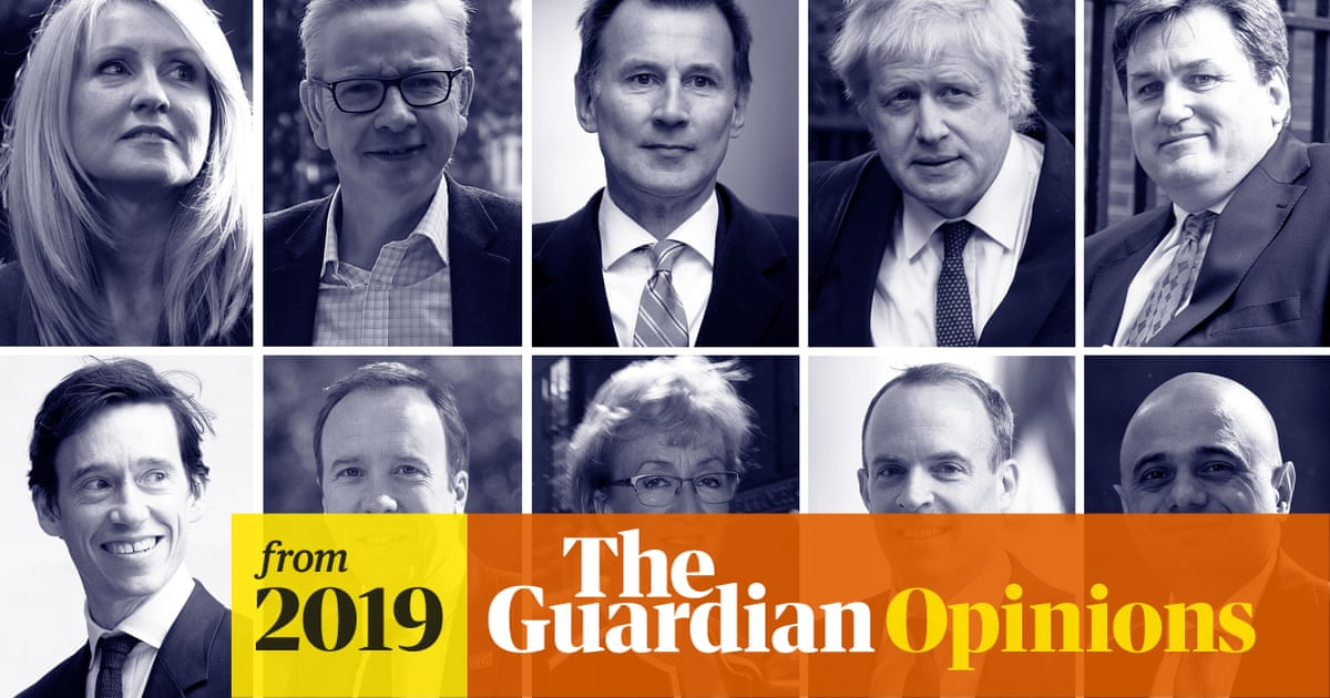 Look at the queue to be Tory leader. No-deal Brexit is more likely than ever | Gina Miller
