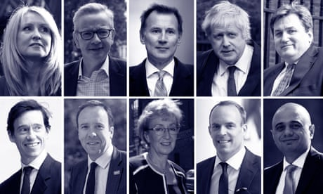 Look at the queue to be Tory leader. No-deal Brexit is more likely than ever