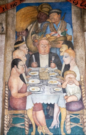 Diego Rivera Murals (detail), Mexico City