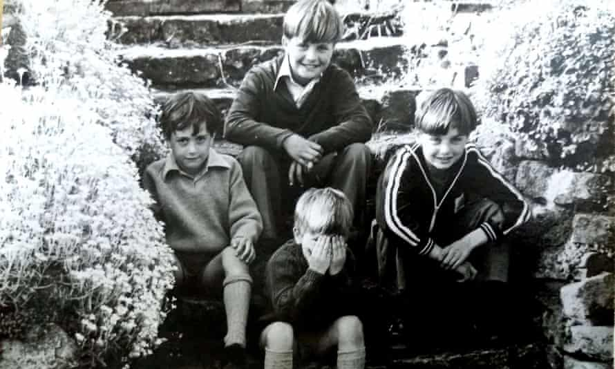 Clockwise from left: brothers Nicky, Tim, Richard and Jem