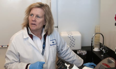 Dr Judy Mikovits, who appears in Plandemic, in 2011.