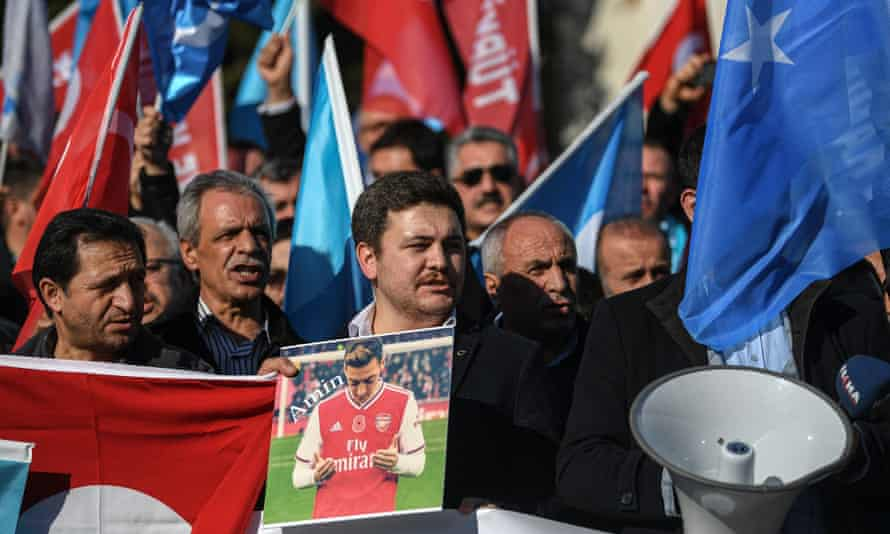 Mesut Özil's support for Uighurs has raised the issue around the world.