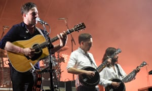 Mumford and Sons: sing-along kings.