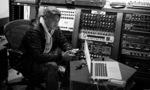 Sean Paul in the studio.