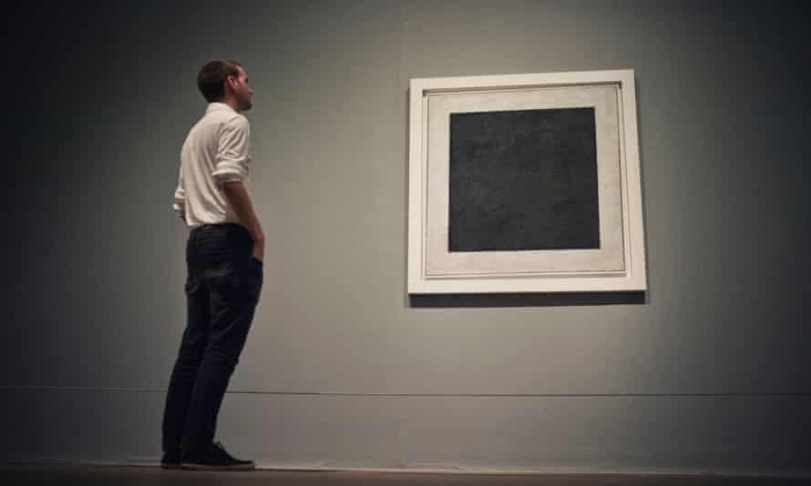 Malevich's Black Square on display at Tate Modern last year.