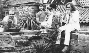 Krautrock supergroup Harmonia ... Hans-Joachim Roedelius, Michael Rother of Neu! and Dieter Moebius of Cluster. And dog.