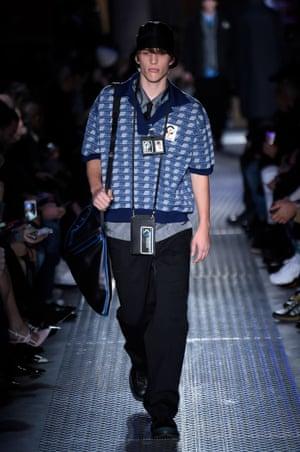 Prada AW18, Milan fashion week.