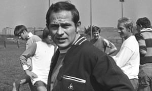 Wilf McGuinness, pictured in late 1970 towards the end of his short time as Manchester United manager.