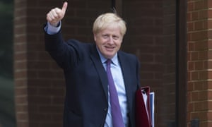 Boris Johnson: opposed to 'gloomsters'.