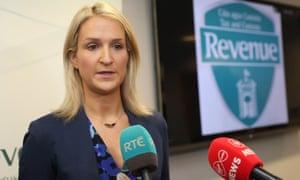 Helen McEntee, the Irish Europe minister