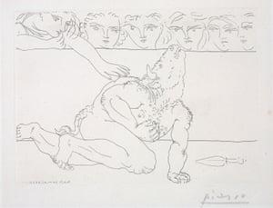 Dying Minotaur, 1933