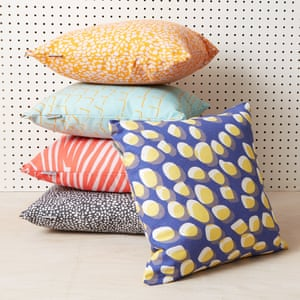 Now, Sit Down makes upcycled cushions. When you no longer want them, returns will be reused, turned into packaging or sold second hand. Cushions, from £39, Now, Sit Down
