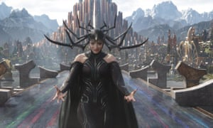 'Anyone in the world who's overcoming adverse conditions is my superhero' … Cath Blanchett in Thor: Ragnarok.