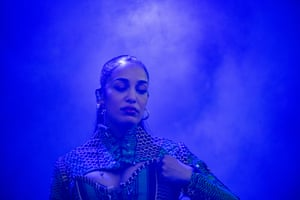 Jorja Smith headlines on the Eat Your Own Ears main stage by Fred Barrington