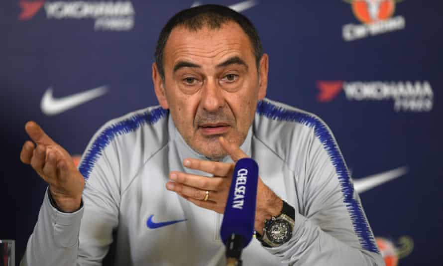 Maurizio Sarri used Barcelona as an inspiration as he defended his tactical approach amid criticism of it following Chelsea's 4-0 loss at Bournemouth