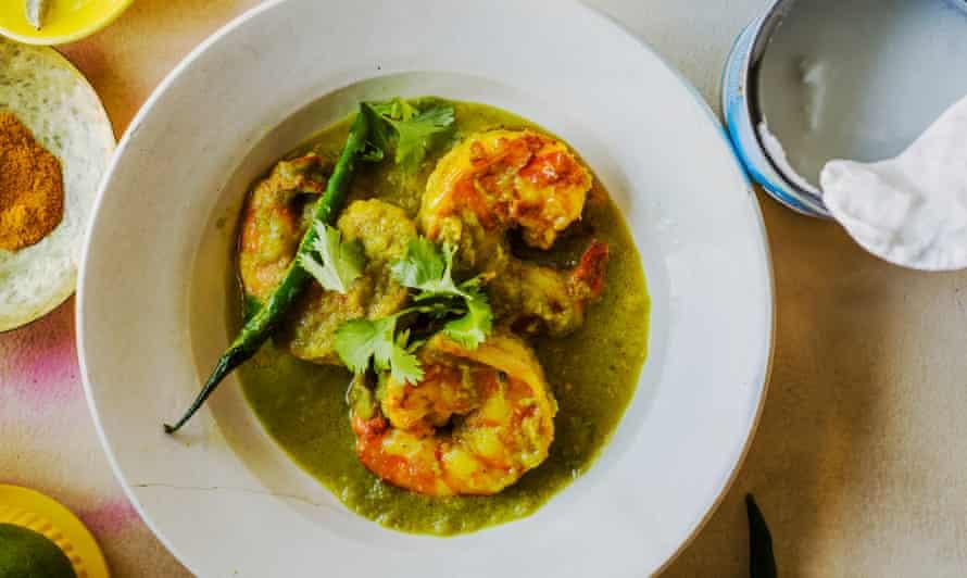 Prawn curry – chingri malai