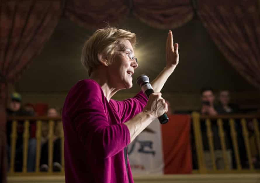 Elizabeth Warren is among the Democrats running in 2020 – a contest that's expected to be crowded.