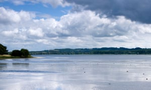 Chew valley lake in Somerset.