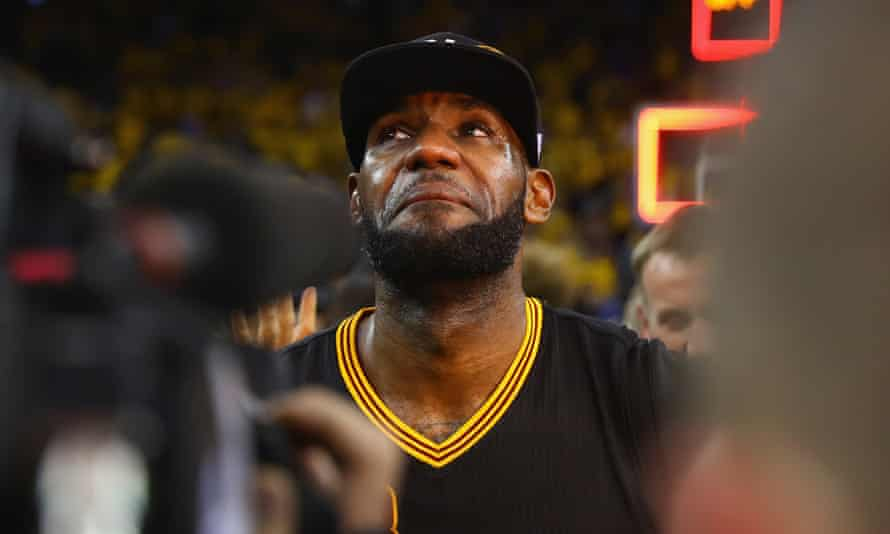 LeBron James reflects on an emotional win for his hometown Cavaliers