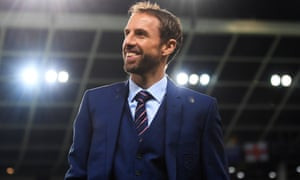 Gareth Southgate at England's World Cup qualifier against Slovenia earlier this week.