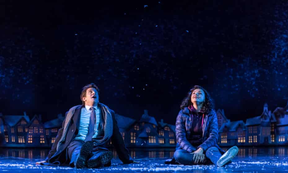 Andy Karl and Carlyss Peer in Groundhog Day.