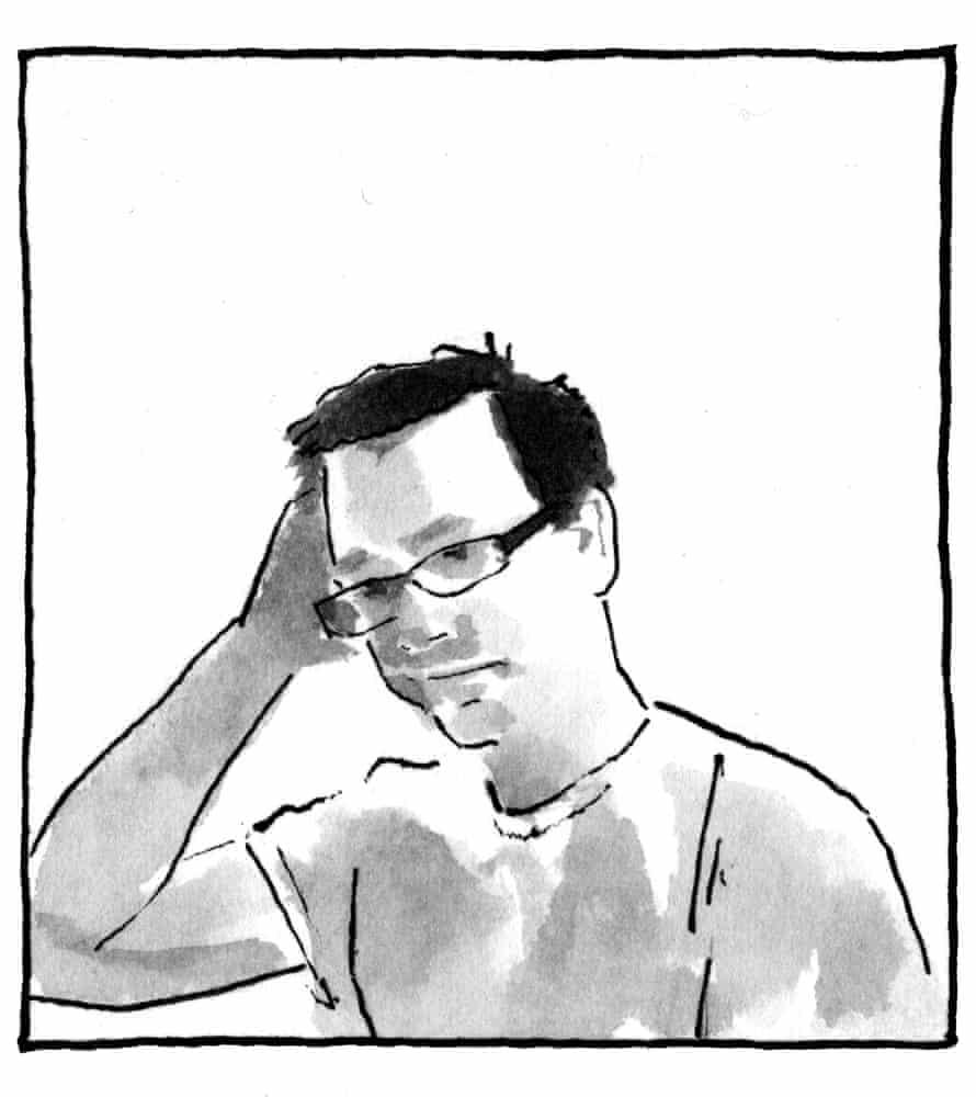 Joe Decie's self-portrait
