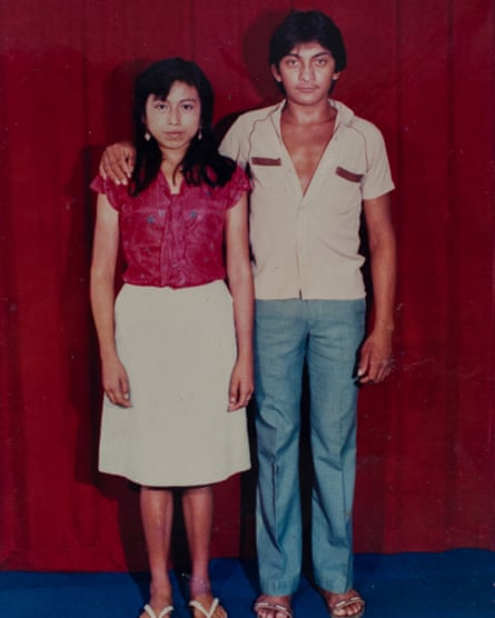 Luis Góngora and his wife Fidelia as young newlyweds.