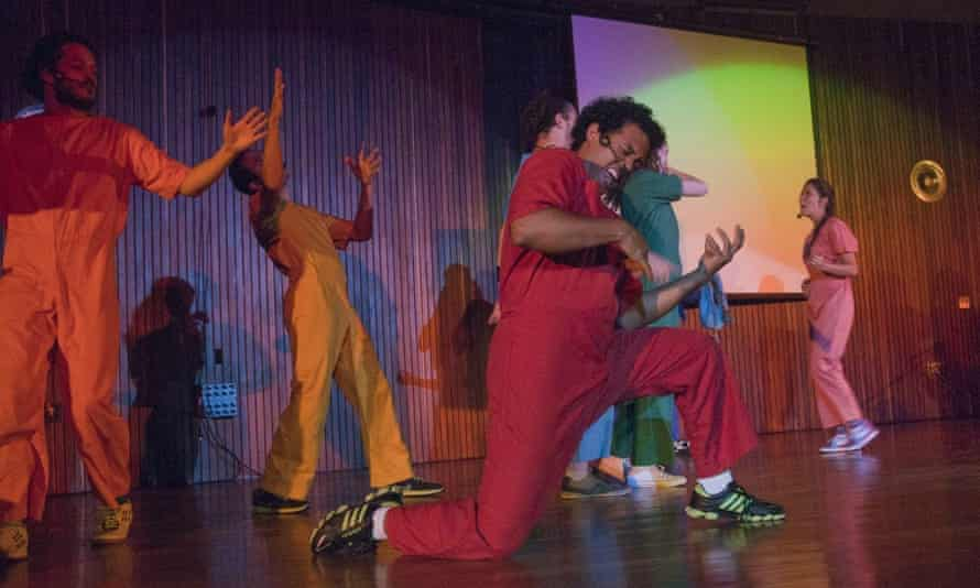 Embracing laughter … Venezuela's Improsexual.