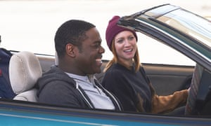 Weirdly prudish … Sam Richardson and Brittany Snow in Hooking Up