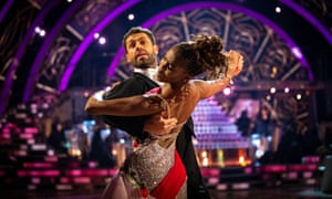 Kelvin and Oti try to Quickstep their way to the Grand Final