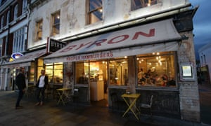 'Byron made a fresh-tasting burger and didn't mess around with it' ... the Islington, north London branch.