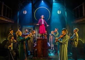 Audrey Brisson (Amélie) in Amelie, Watermill theatre, Newbury, 2019