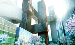 Cross Towers, Seoul