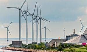 Wind farm, Copenhagen.