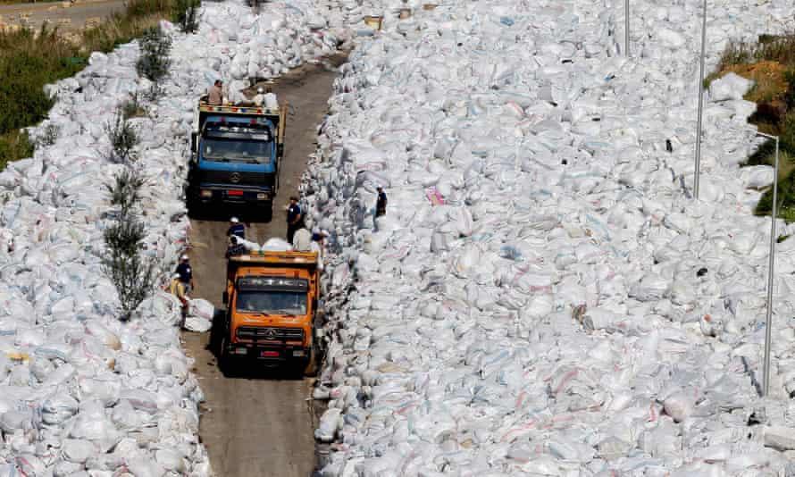 Rubbish in Lebanon