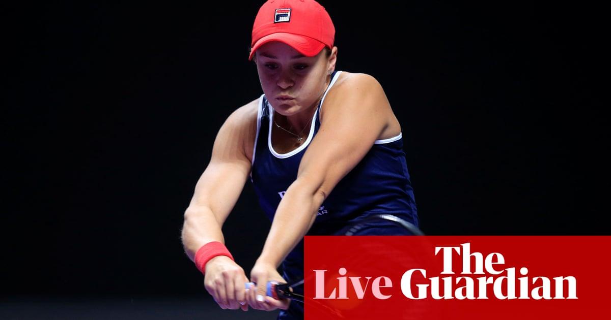 Ashleigh Barty v Petra Kvitova: WTA Finals –live!