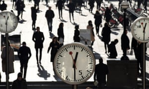 Office workers in London