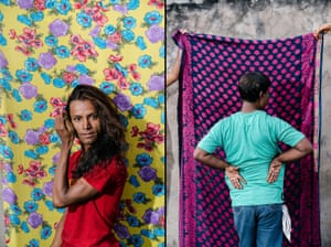 Roshni (left), a member of the LGBT community in Patna; Satya (pseudonym), a gay man in Patna