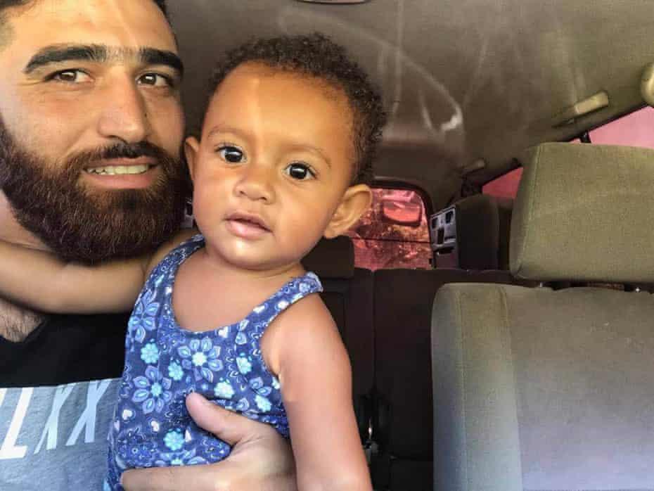 Amin and Liberty Abofetileh on Manus Island