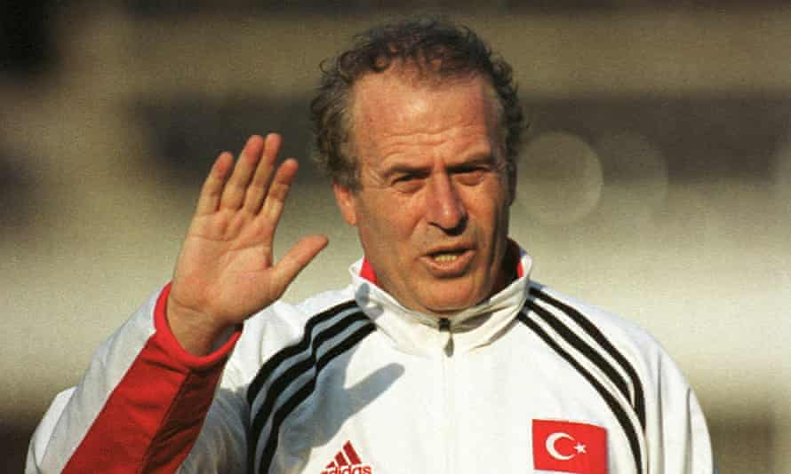 Mustafa Denizli, pictured when Turkey's coach in 2000, says Galatasaray was the only club 'for which I would risk my reputation'.