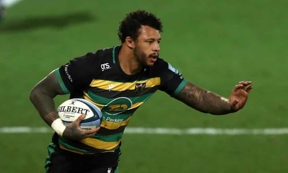 Northampton relies heavily on Courtney Lawes