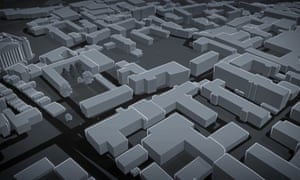 Improbable's SpatialOS software - which looks like a digital maze