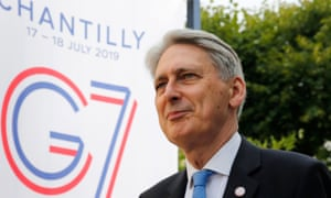 Hammond: 'I will remain a member of the House of Commons. I will do everything in my power from my position to make sure that parliament blocks a Brexit without agreement.'