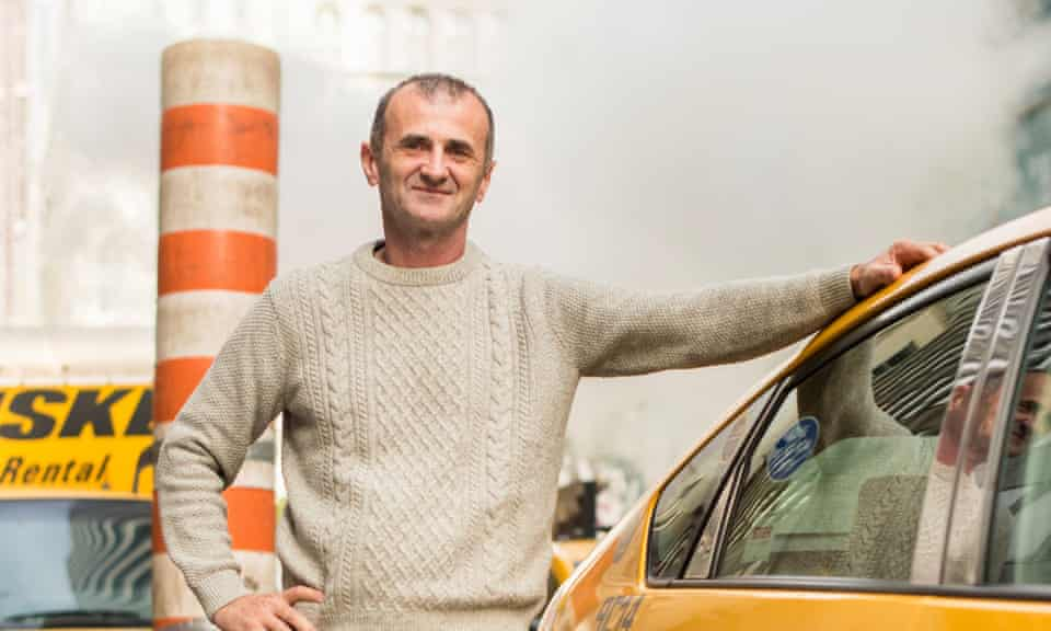 Yellow Cab driver Dragan Lekic, 56, from former Yugoslavia, is calm and philosophical about the changes to the business.