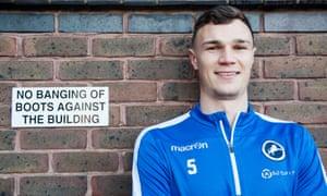 Millwall player Jake Cooper