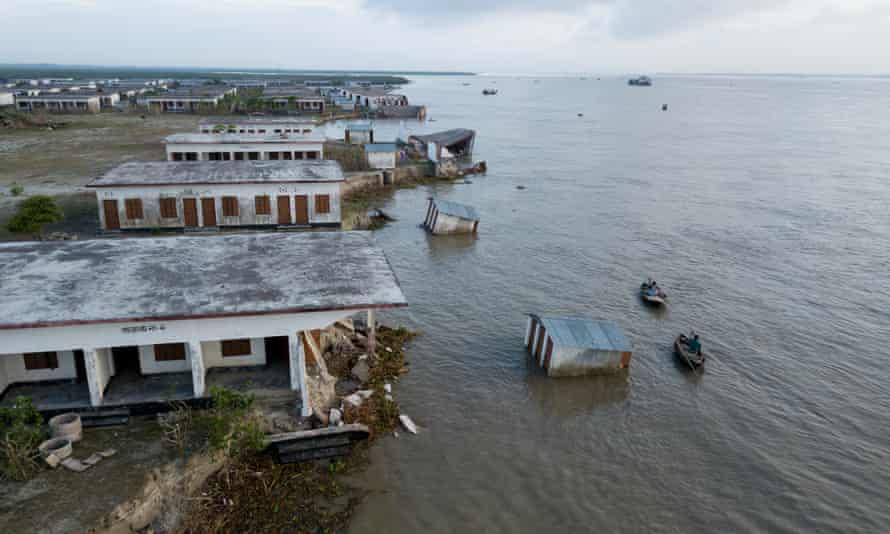 Rising seas, river erosion threaten Bangladesh