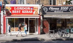 London kebab take-away
