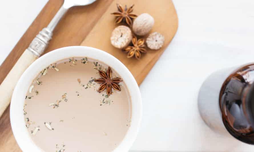Mushroom latte