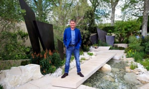 Andy Sturgeon and his best show garden at the 2016 RHS Chelsea Flower Show.