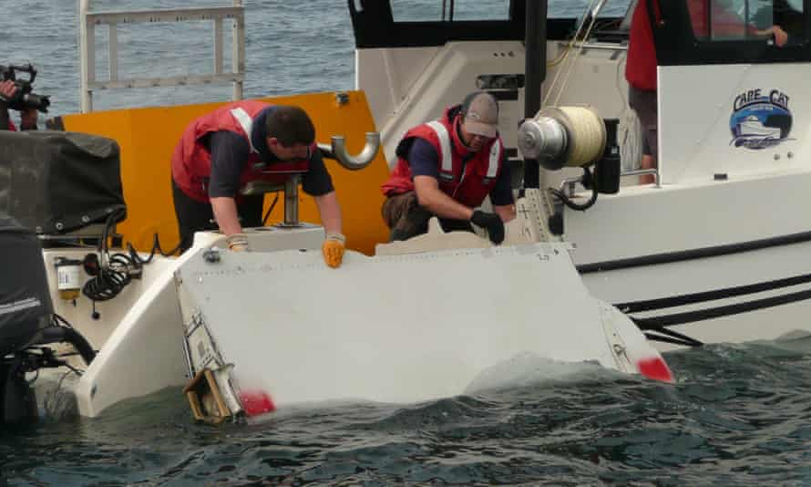 MH370 search flaperon used for drift modelling